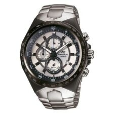 CASIO EDIFICE Men's EF-534D-7A Silver Dial/ black Case Stainless Steel water res
