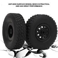 4PCS Antiwear RC Reifen Rad für WPL C-34 1/16 4WD Militär LKW Auto Buggy