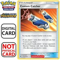 4 x Custom Catcher 171/214 Lost Thunder Pokemon Card TCG Online