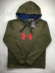 Women Under Armour ColdGear Threadborne Logo Hoodie Pullover Sweatshirt S M L XL