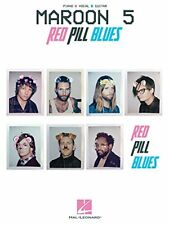 """MAROON 5 """"RED PILL BLUES"""" MUSIC BOOK-PIANO/VOCAL/GUITAR-BRAND NEW ON SALE-RARE!!"""