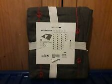 Ikea Anvandbar Throw - grey/white with red stitch detailing - New/unwanted gift