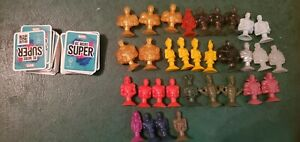 Lot Of 32 Micropopz and Cards Marvel Be more Super - Black Panther Thor