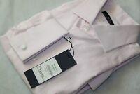 Men's ROBERTO TORRETTA Pink Long Sleeve Button Men's Shirt Size 41 BNWT