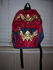 NWT Batman V Superman Dawn Of Justice Wonder Woman Backpack