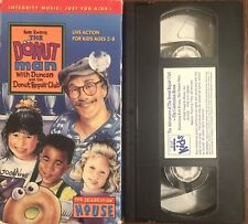 The Donut Man (Vhs) with Duncan The Celebration House live action Educational