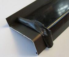 Aluminium Fensterbank 1,2m, mittelbronze C33 eloxiert, Ausladung 90 mm