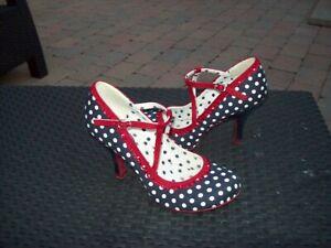 RUBY SHOO Court Shoes UK7 EU40