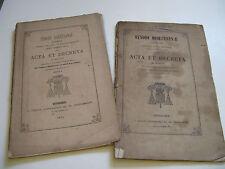 CH. AM. DE LA TOUR D'AUVERGNE SYNODES DIOCESAINS 1866-72 BOURGES BERRY CHER