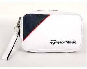 TaylorMade True Lite Golf Pouch U24669, Navy, Black, White Color