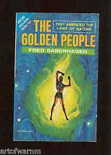 GOLDEN PEOPLE - Saberhagen & EXILE FROM XANADU - I.Wright  SB ACE M-103