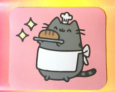 MOUSE PAD: Baker Pusheen Fat Cute Cat with Bread,Hat,Apron COMPUTER MOUSEPAD NEW
