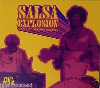 Salsa Explosion - Various Artists (CD 2007 Starbucks Fania Records) VG++ 9/10