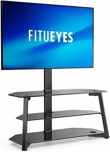 FITUEYES 3-Tiers TV Stand/Base for 32-70 Inch TVs