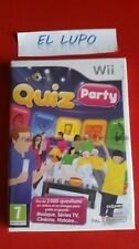 QUIZ PARTY WII NINTENDO NEUF SOUS BLISTER VERSION FRANCAISE