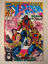 X-MEN UNCANNY #282 MARVEL 1ST APP BISHOP FEW PANNELS NOVEMBER 1991