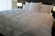 KING SIZE BAFFLE BOXED QUILT 70% WHITE EUORPEAN GOOSE DOWN 5 BLANKET WARMTH