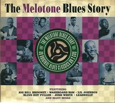 THE MELOTONE BLUES STORY - 2 CD BOX SET - BIG BILL BROONZY, JOSH WHITE & MORE