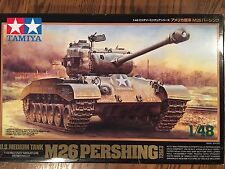 TAMIYA  U.S. M26 Pershing Tank  1/48 Scale  Kit No. 32537 **MINT**