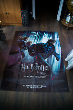 HARRY POTTER DEATHLY HALLOW 1 E 4x6 ft French Grande Poster Original 2011