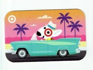 Target Gift Card - Bullseye Dog - Convertible - Miami Florida Style - No Value
