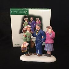 """Department 56: """"Off To College!"""" [56.59413] - Retired / Mint"""
