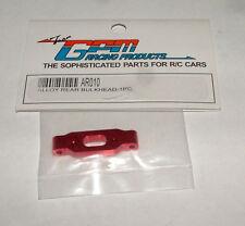 TEAM ASSOCIATED RC18T MT GPM REAR BULKHEAD ALUMINUM RED AR010