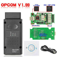 Vauxhall Opel Diagnostic tool OBDII OPCOM V1.99 With PIC18F458 Firmware SP