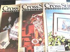 Cross Stitch & Country Craft Magazines May/Jun '90, Jul/Aug '90, Jan/Feb '91