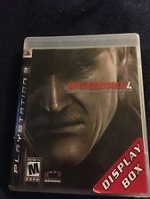 Metal Gear Solid 4: Guns of the Patriots Sony PlayStation 3 MGS4 PS3 Konami