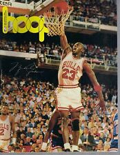Great 1989 - 1990 Milwaukee Bucks Hoop Program Michael Jordan cover vs Bulls