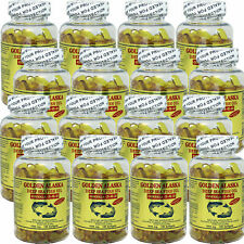 12 x Golden Alaska Deep Sea Fish Oil Omega 3,6,9 100 Caps = Total 1200 Caps