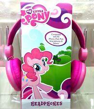 My Little Pony Headphones Adjustable Best Friends Hasbro Pink New NIB Girls