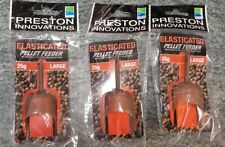 Preston Elasticated Pellet Feeders Large 25g x3