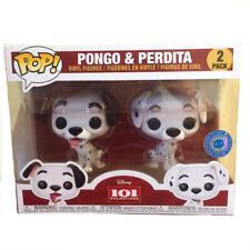 FUNKO POP Disney 101 Dalmatians Pongo & Perdita 2 Pack NEW In A Box Exclusive