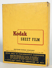 KODAK 4X5 SUPER PANCHRO PRESS BOX OF 25 SEALED EXPIRED 1957