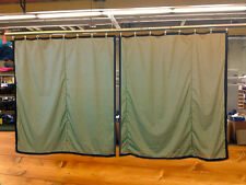 Lot of (2) Tan Curtain/Stage Backdrop, Non-FR, 12 H x 11 W