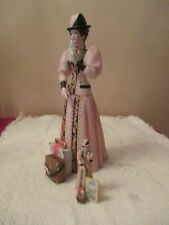 Avon 2004 Mrs. Albee President's Club  Porcelain Doll Plus Mini Great Condition