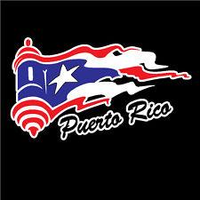 PUERTO RICO CAR DECAL STICKER EL MORRO with PUERTO RICAN FLAG #250