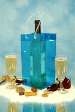 Ice Bag Wine Cooler Champagne Bucket Party Wine Bag BLU