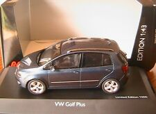 VW VOLKSWAGEN GOLF VI 6 + PLUS 2009 TSI BLUE GRAPHIT SCHUCO 07317 1/43 5 DOORS