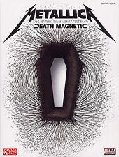 Metallica DEATH MAGNETIC GUITAR Music Book TAB Learn ALL NIGHTMARE LONG ROCK HIT