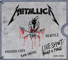 Live Shit: Binge & Purge - Metallica (2014, CD NIEUW)5 DISC SET