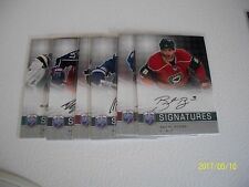 BRENT BURNS BE A PLAYER SIGNATURE 2008-09