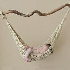 New Newborn Baby Girls Boys Crochet Knit hammock Photo Photography Prop Outfits
