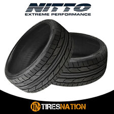 (2) New Nitto NT555 G2 255/35/20 97W Ultra-High Performance Sport Tire