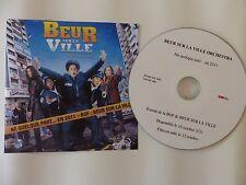 CDr single Promo BO Film OST Beur sur la ville Orchestra Né quelque part ..