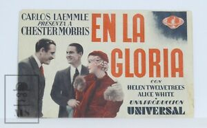 Original 1933 King for a Night Movie Advertising Leaflet - Chester Morris