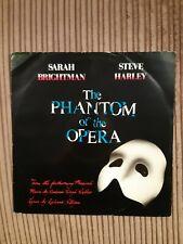 "Sarah Brightman The Phantom Of The Opera 12"" vinyl single record (Maxi) Ex Vinyl"