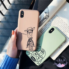 Toy Story Woody Buzz Lightyear Soft Phone Case for iPhone11 Pro MAX XR 6 7 8Plus